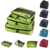 3 Pçs/set Unisex Nylon Cubos de Embalagem Para Roupas Leves Organizadores Saco De Duffle Sacos De Viagem Bagagem Para Camisas À Prova D' Água
