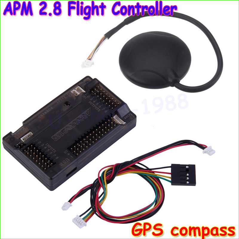 все цены на  APM2.8 APM 2.8 RC Multicopter Flight Controller Board with Case 6M GPS Compass for DIY FPV RC Drone Multirotor Wholesale  онлайн