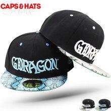 2017G dragón gorras planas SnapBack hip hop CAP para niños leopardo  sombreros de béisbol Niños Niñas negro sombreros planos 50 a. 093bbbefdf3