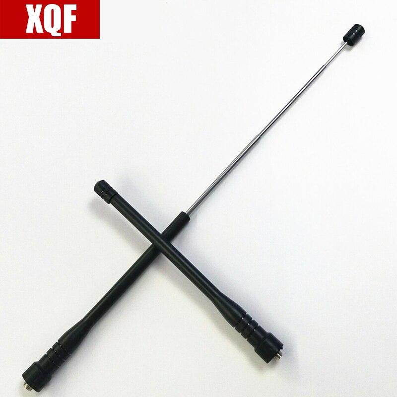 XQF SMA-F Femme De Poche Télescopique Antenne compatible avec Baofeng UV-5R UV-5RE Série BF-UVB2 888 S Talkie Walkie