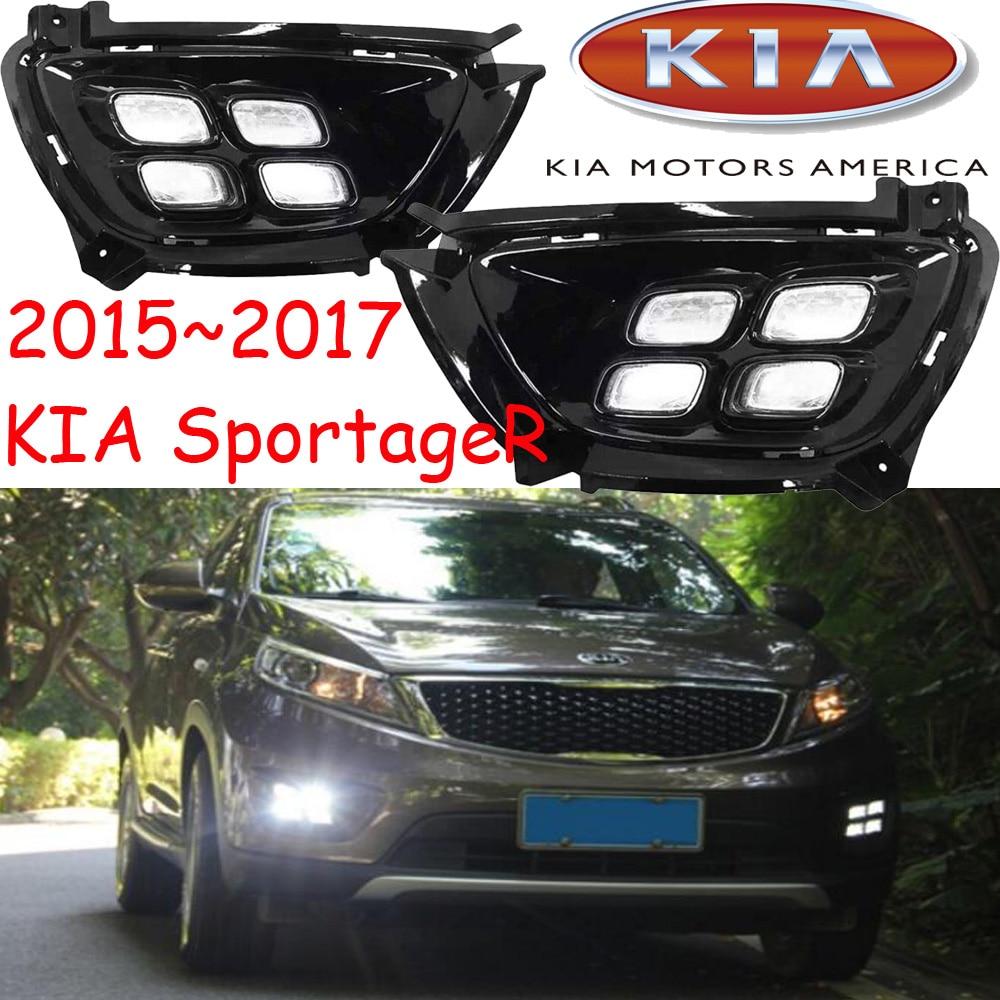ФОТО 2015~2017 KIA sportageR daytime light,Free ship to your door!LED,KIA sportageR fog light,2ps/set