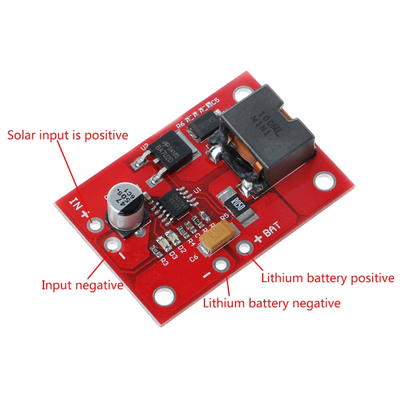1 ячейка литиевая батарея Зарядка 3,7 V 4,2 V CN3791 регулятор MPPT контроллер солнечной панели