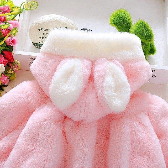 Infant Newborn Baby Girl Coat  2