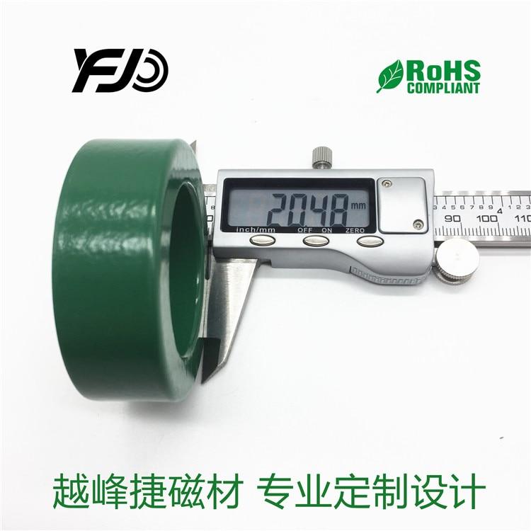 2 шт. магнитное кольцо из марганца и цинка антипомехи 60*40*18 преобразователь частоты мешают высокомощный ферритовый фильтр двигатель