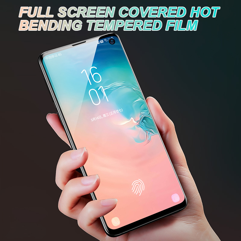 15D Soft Protective Film For Samsung Galaxy S10 S9 S8 Plus S10e A6 A8 Plus 2018 Note 8 9 Full Cover Screen Protector Film Case