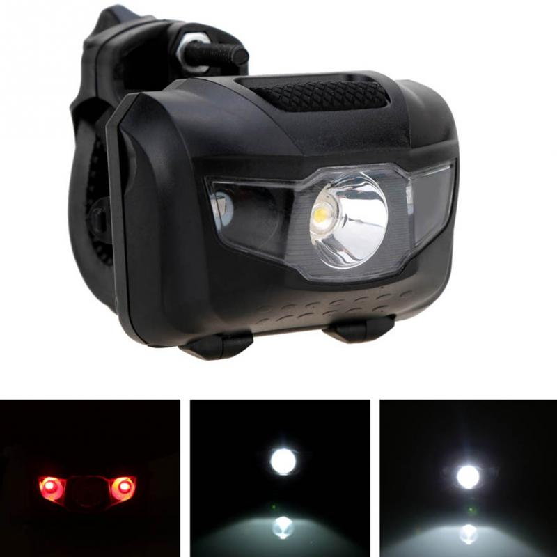 400LM Bicycle Light 3 LED MTB Front Rear Light Safety Warning Flashlight Lamp For Night Riding Bike Accessories