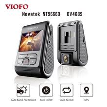 Оригинальный viofo A119 2.0 «ЖК-дисплей конденсатор 2 К 1440 P Новатэк 96660 HD автомобиля тире видео рекордер DVR дополнительно GPS CPL фильтр