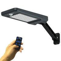 Neue 60 LED Solar Licht Motion Sensor Outdoor Garten Licht Dekoration Zaun Treppen Pathway Yard Sicherheit Solar Lampe Drop verschiffen-in Solarlampen aus Licht & Beleuchtung bei
