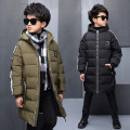 -30 Degree Children's Winter Jackets Duck Down padded children clothing 2016 Big Boys Warm Winter Down Coat Thickening Outerwear