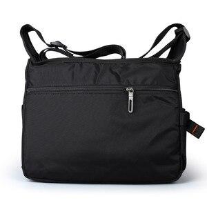 Image 3 - 2020 Men Messenger Multifunction Bags fashion Cross crossbody bag Leisure oxford cloth casual travel men messenger bag Toolkit