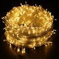 50 М света шнура сид открытый украшения свет 220В 50 М 400led свет украшения водонепроницаемый christamas света