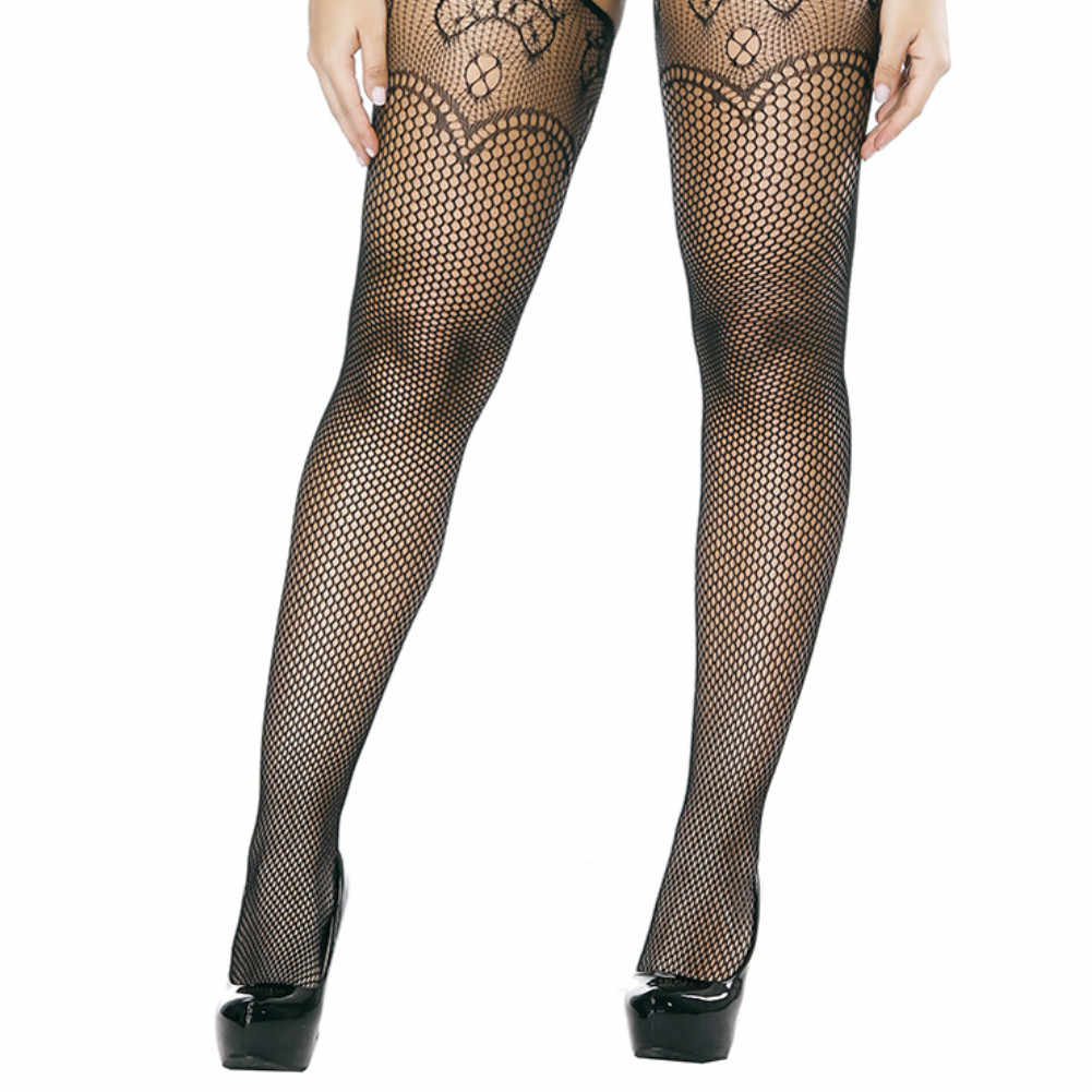 95eb4895958 Sexy Women s Classic Tights Small Polka Dot Silk Stockings Thin Vintage  Faux Tattoo Lace Lady Stockings