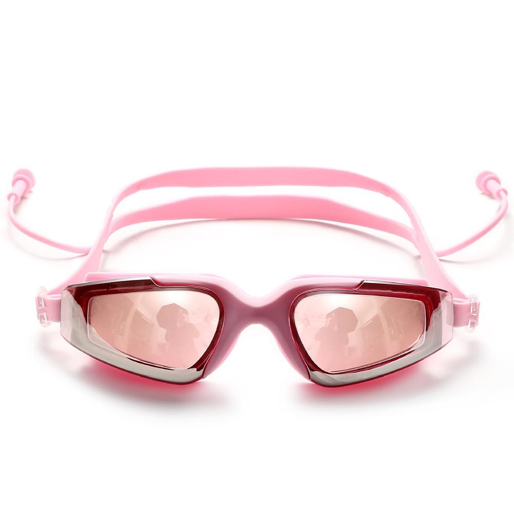 Capace Donne Degli Uomini Integrato Ultra Clear Occhiali Di Modo Regolabile Adulto Fresco Anti Appannamento Occhialini Da Nuoto Impermeabile Pieghevole Occhiali Con Il Miglior Servizio