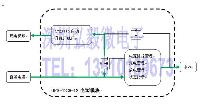 DC UPS power modul unterbrechungsfreie netzteil computer access ...