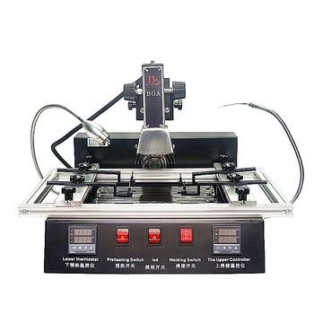 цена на 1900W IR bga machine LY M770 Rework station 220V 2 zones manual operation with brush stencil pen tweezers ball
