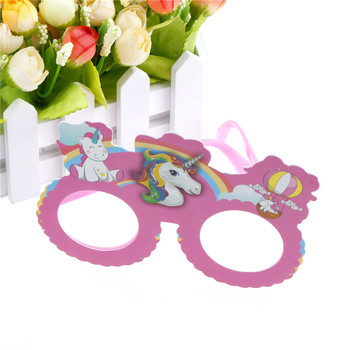Birthday Gift Shiny Pink Unicorn Funny Costume Glasses Sunglasses Mask Photobooth Props Wedding Supplies Decoration Party Favors