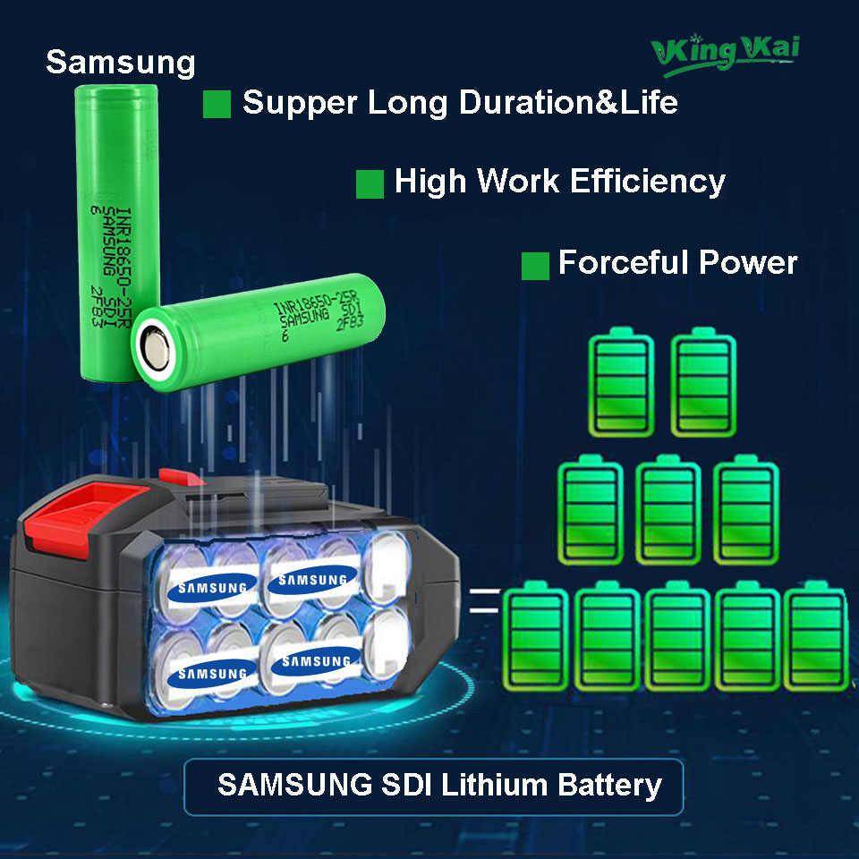 D2 480N/M 1/2 Brushless Torque Ajustável Carro Bateria de Lítio Recarregável Sem Fio Chave de Impacto Elétrica