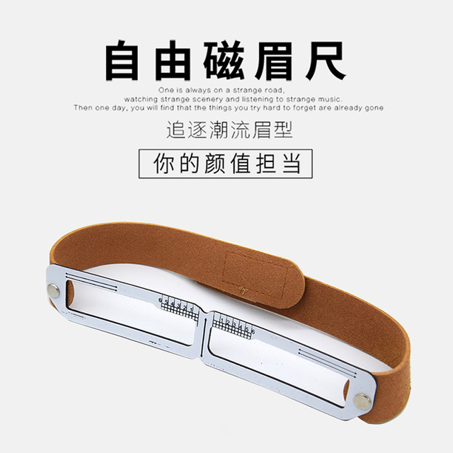 Microblading Eyebrow Stencil Golden Ratio Measure Models Shaping Permanent Makeup Tattoo Design Calipers Stencil Eyebrow Ruler 2