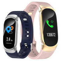 Fitness Smart Watch Women Pedometer Heart Rate Monitor Bluetooth Touch Run Sports Watch Wrist Lady Smartwatch For IOS Android