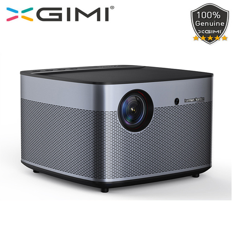 Globale versione xgimi h2 Proiettore DLP 1080 p Full HD 3D 4 k Video Proiettore Android tv Bluetooth Wifi di Casa teatro