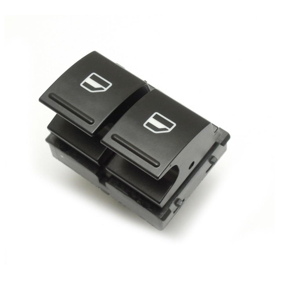 KEMiMOTO 2K0959857 1K3959857A Electric Window Switch Driver Side for VW Golf MK5 Caddy 2K Jetta 2K0 959 857 1K3 959 857A
