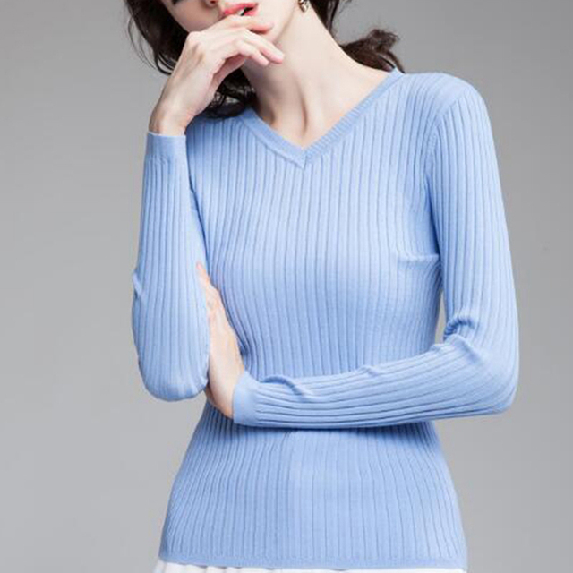 8154f0510b40 GIGOGOU Autumn Winter Warm Women Sweater Cable Knitted Pullover ...