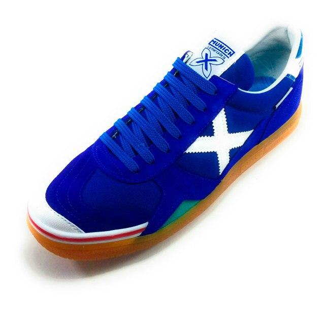 31ff90e5e9d5a MUNICH GRESCA hombre - zapatillas fútbol sala sintético azul - zapatilla  hombre deportiva