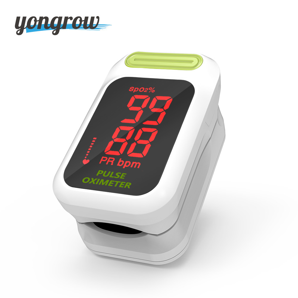 Yongrow Medizinische Digitale Fingertip Pulsoximeter Blut Sauerstoff Sättigung PR Monitor SpO2 hohe Genaue Familie Gesundheit Pflege CE