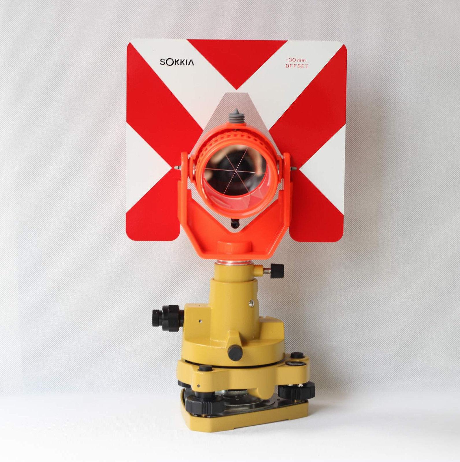 NEW Single Prism Tribrach Set system for total station surveying