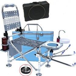 Krzesło wędkarskie na zewnątrz Kamp sandalees krzesło kempingowe stołek plecak torba turystyka kamuflaż Seat Sila Plegable sprzęt wędkarski w Krzesełka wędkarskie od Sport i rozrywka na