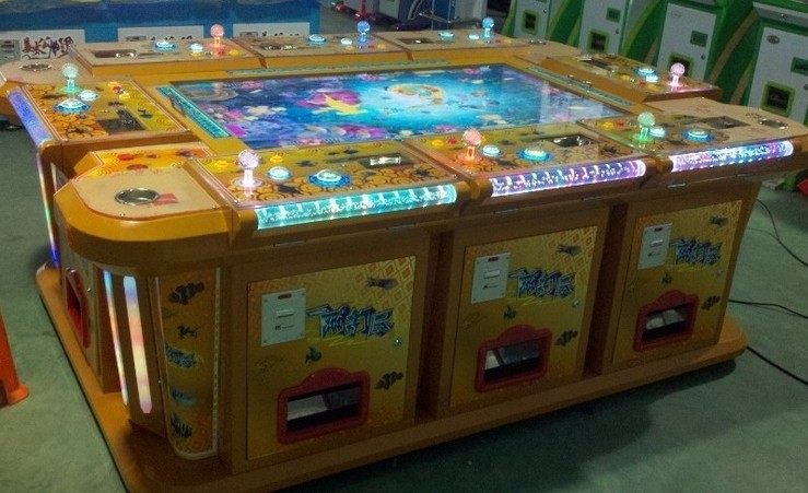 Large entertainment machine 3d fishing game machine for How to play fish table game