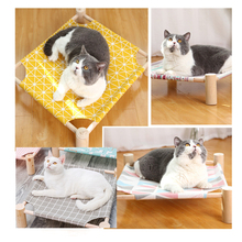 Pet Scratch Resistant Hammock Bed House For Cats Lazy Mat Cushion Lounger Kitten Cottages Sleeping Supplies