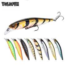 2018 New Artificial Wobblers Jerkbait 14g 10cm Rattles Inside Diving Depth 0.8-1.2m Outdoor Camping Float Hardbait Fishing Lure