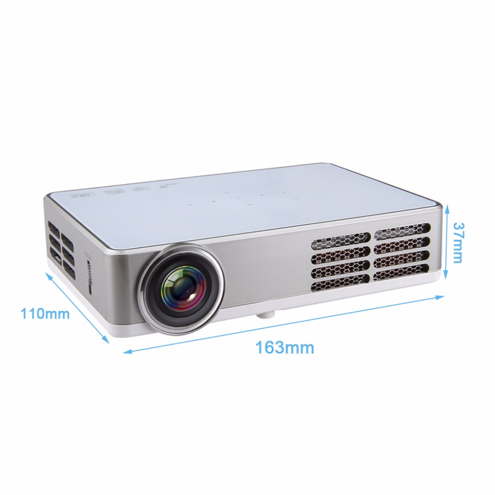 Excelvan LED9 Portable WiFi Mini Projector Android4.4 LED DLP Projector With  ( (11)