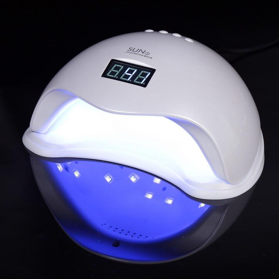 SUN5 48 Вт светодио дный светодиодная/УФ-лампа для ногтей с низким тепловым режимом Сушилка для ногтей Гель-лак для отверждения жесткий гель-уд...