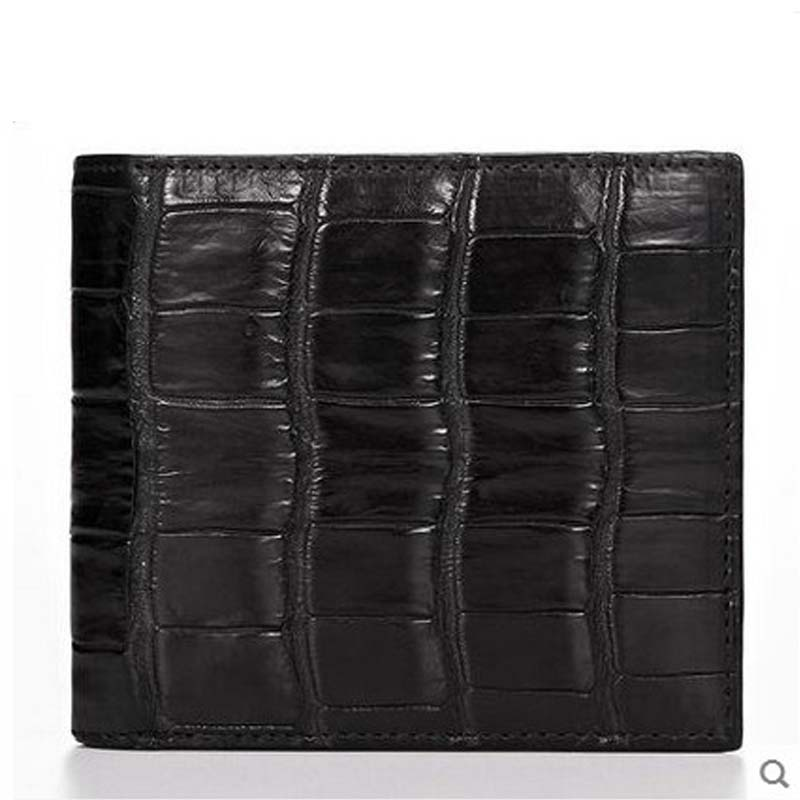 2018 cestbeau The new Europe and the United States No stitching Belly short double - fold money clip the alligator belly black europe and the united states new handsome british wind pointed thick boots snake belt buckle especially exquisite single boot