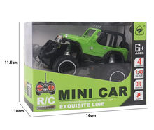 4CH Mini RC Truck Anak Mainan RC Remote Control Off-Road Jeep Model Mobil Mainan(China)