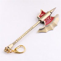 15cm LOL Keychain Olaf The Berserker Ax Online Game LOL Gift And Trinket Key Chain 15cm