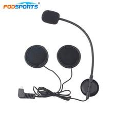 Fodsports домофон наушников Динамик для BT-S2 1000 м Bluetooth шлем гарнитуры домофон стерео наушники