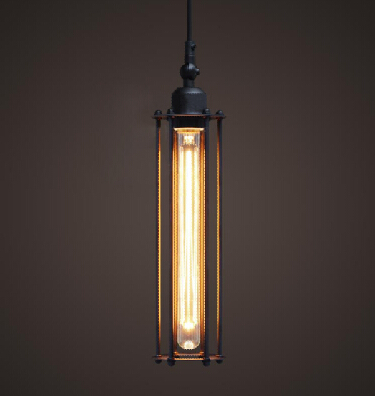 Free shipping 5061S  American style Edison vintage tube ceiling lamp/ Pendant lighting