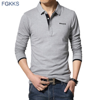 Fgkks 2017 new brand polo shirts men spring fashion mens cotton polos casual outwear quality long.jpg 200x200