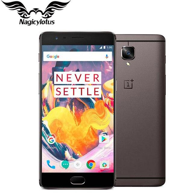 Оригинальный Фирменная Новинка OnePlus 3 T A3010 смартфон 6 ГБ Оперативная память 64 Гб Встроенная память 5,5
