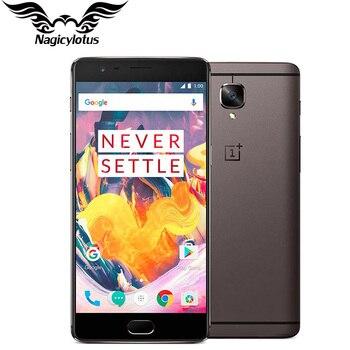 Оригинальный Фирменная Новинка OnePlus 3T a3010 смартфон 6 ГБ оперативная память 64 ГБ Встроенная 5,5