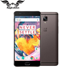 Marca Original nuevo OnePlus 3 T A3010 Smartphone 6GB RAM 64 GB ROM 5,5 «FHD Android Snapdragon 821 16MP NFC teléfono Móvil
