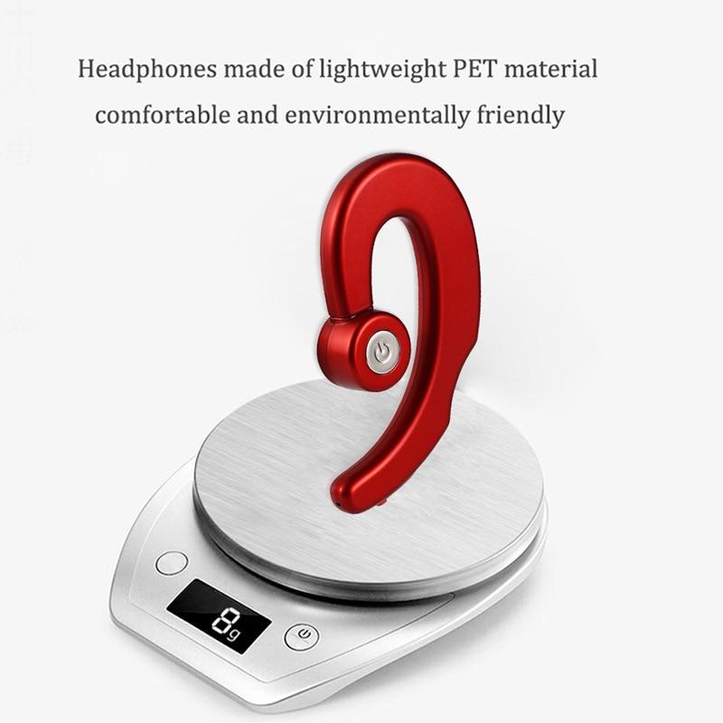 Bone Conduction Wireless Bluetooth Headphone Headset Earphone Earbud with Mic Dropshipping