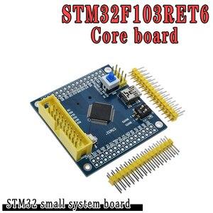 Image 1 - 2 pces stm32f103ret6 arm stm32 módulo de placa de desenvolvimento do sistema mínimo para arduino placa de sistema compatível stm32f103vet6