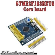2 pièces STM32F103RET6 ARM STM32 Module de carte de développement de système Minimum pour arduino carte système Minimum Compatible STM32F103VET6