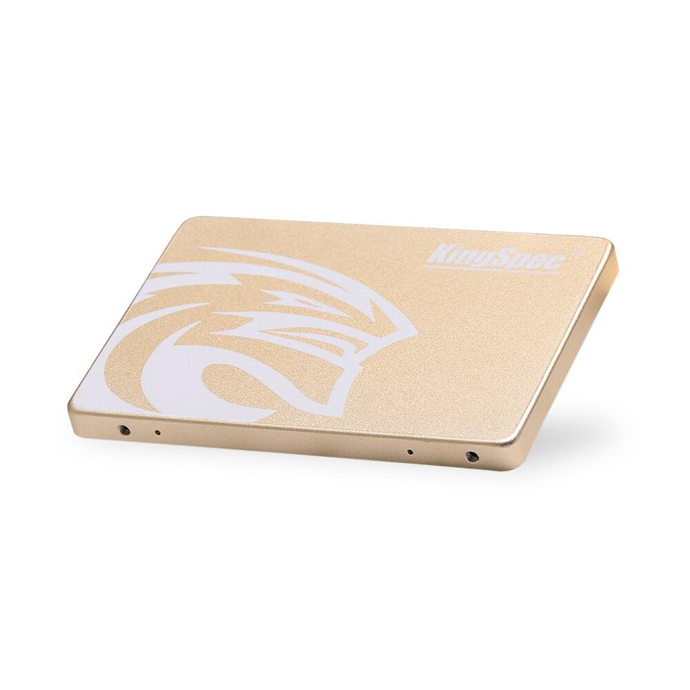 KingSpec SSD HDD 2.5 SATA3 SSD 480 go SATA III 500 go SSD 7mm Interne Solid State Drive Or boîtier métallique pour pc de bureau portable - 6