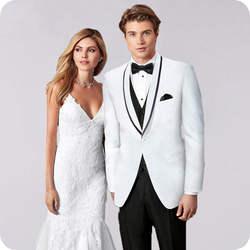 Белый Slim Fit Свадебные костюмы для мужчин индивидуальный заказ смокинг для жениха шалевыми лацканами Мужской пиджаки из 3 предметов пиджак