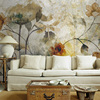 Hand Painting Fresh Modern Design Lily Flower Mural 3d Wall Photo Murals Wallpaper Background Large Papel